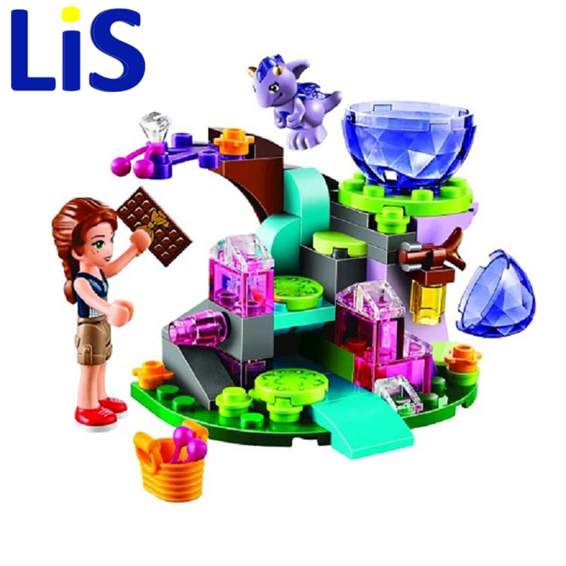 Lis BELA 83pcs Emily Jones & the Baby Wind Dragon Model Building Blocks Toy Compatible With Lepin 41171 Bricks set Elves купить