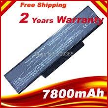 9 zellen 7800 mAh Laptop batterie Für ASUS K73 K73E K73J K73S K73SV N71 N71J N71V N73 N73F N73G N73J n73S N73V X77 X77J X77V