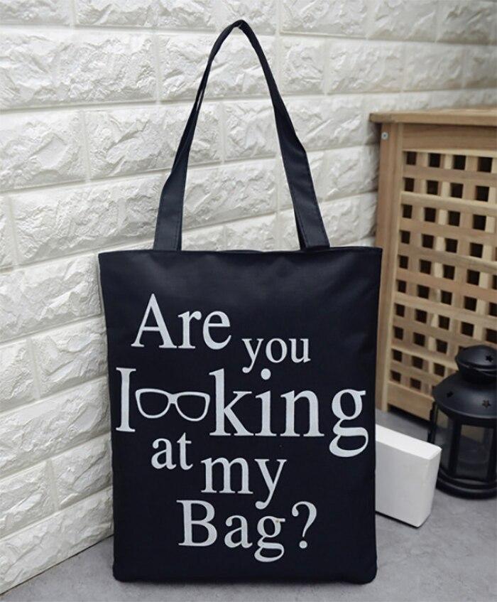 Silkscreen Customised Logo Canvas Bag