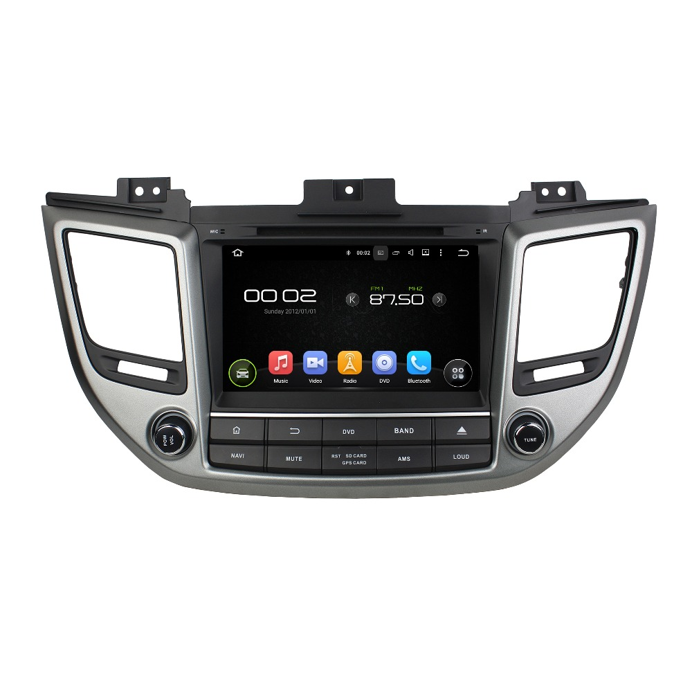 8 Android 6.0 Octa-core Car Multimedia Player For HYUNDAI TUCSON IX35 2015 Free MAP Video Audio Stereo Car DVD Player