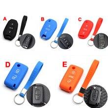 Резиновый силиконовый брелок для дистанционного ключа без ключа для Citroen C3-XR C5 C4L C6 Elysee Бесплатная доставка
