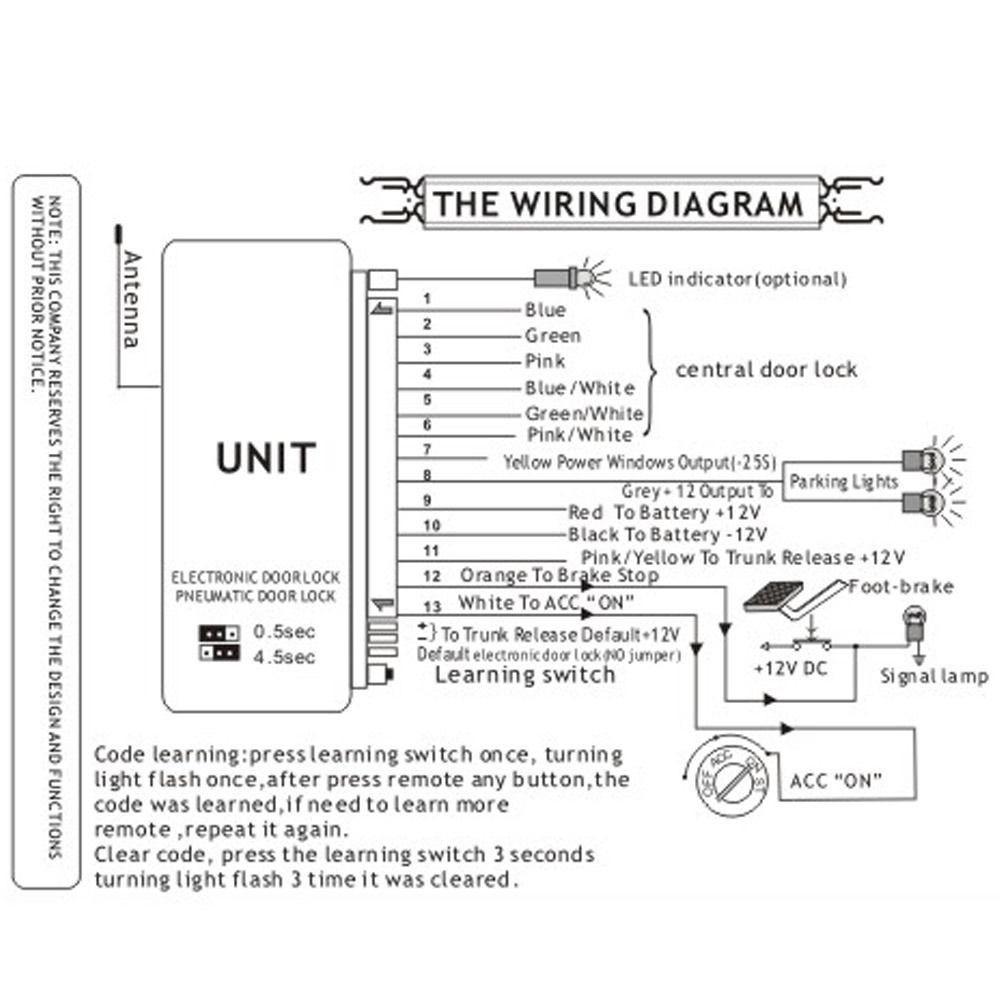 car keyless entry wiring diagram wiring library Power Antenna Wiring Diagram wiring diagram car keyless entry 1 x operation instruction
