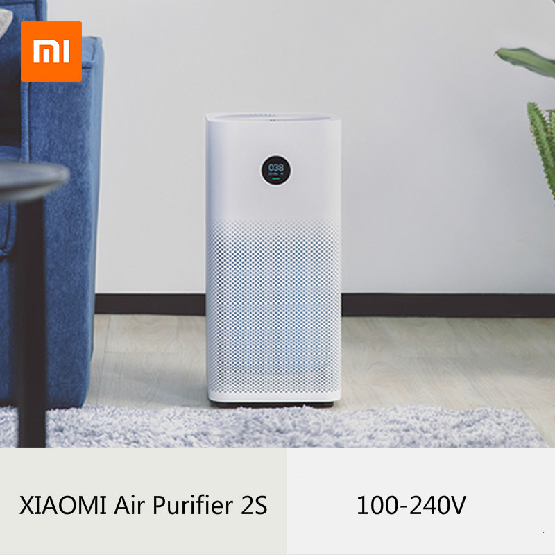 Maintenant XIAOMI purificateur d'air 2 s stérilisateur plus formaldéhyde nettoyage ménage intelligent filtre HEPA Intelligent App wifi