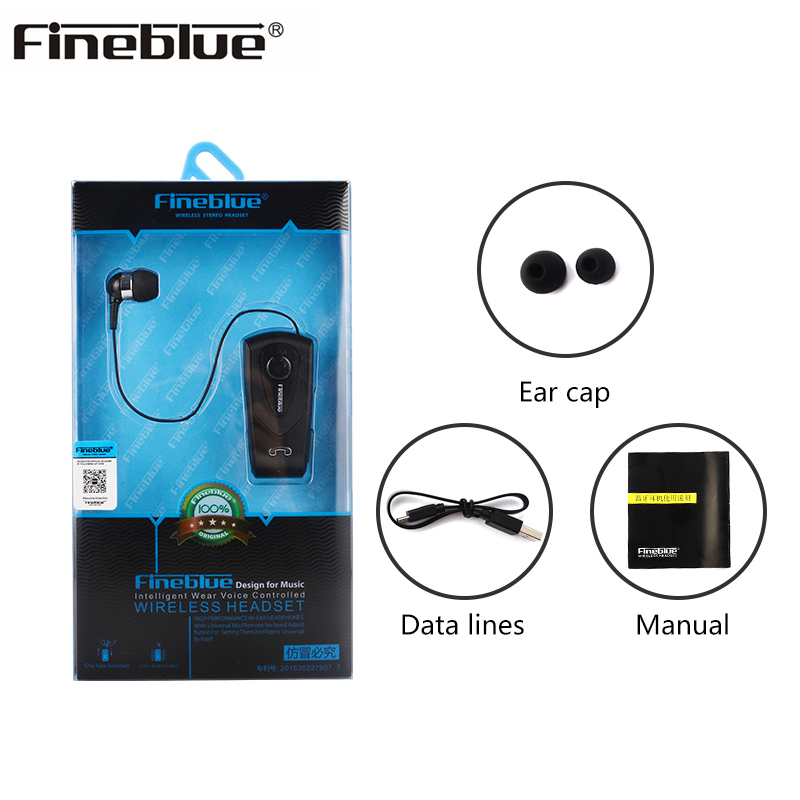 Original Fineblue F930 Wireless Business Bluetooth 4.1 earphone hands free car headset fone de ouvido for iphone samsung xiaomi p3 player bluetooth hands free car bluetooth headset transmitter receivers f