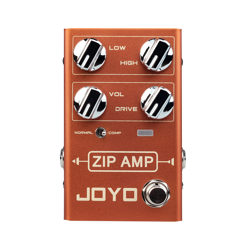JOYO R-04 ZIP AMP Overdrive Electric Guitar Effect Pedal Strong Compression Gain Distortion Rock Monoblock Effects ProcessorJOYO R-04 ZIP AMP Overdrive Electric Guitar Effect Pedal Strong Compression Gain Distortion Rock Monoblock Effects Processor