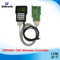 CNC wireless channel for DIY CNC router DSP controller 0501 DSP handle remote English version CNC controller