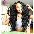 7A Loose Deep Wave Glueless Full Lace Wigs Brazilian Virgin Hair Lace Front Human Hair Wigs for Black Women U Part Wig