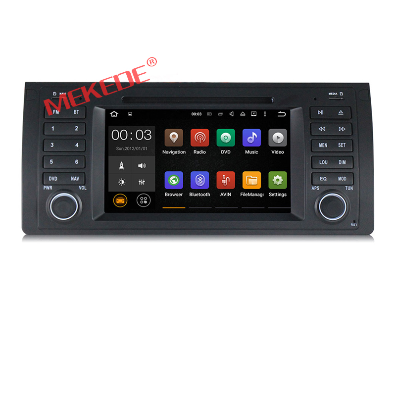 7 inch Android 7 1 for bmw E39 X5 M5 E53 car dvd gps wifi 4G