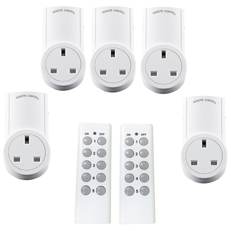 2x WiFi 3G//4G Smart UK Plug Alexa–Remote Control Switch Socket Google Home Timer