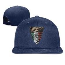 a0c7fde8b86 Republic Mexican Flagc Bear Design Bandana Unisex Sports Snapback Caps (China)