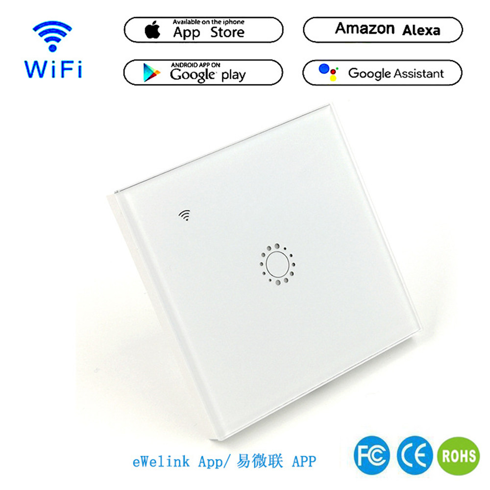 WIFI Intelligent Remote Control Touch Switch Alexa Voice APP Smart