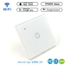 WIFI Intelligent Remote Control Touch Switch Alexa Voice APP Smart