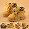 Nueva Primavera Botas de Invierno de Moda Infantil Zapatos de Bebé Antideslizante Botas De Niño Niña Informal Guapo Bota Infantil Menino Fresco Niño de Arranque