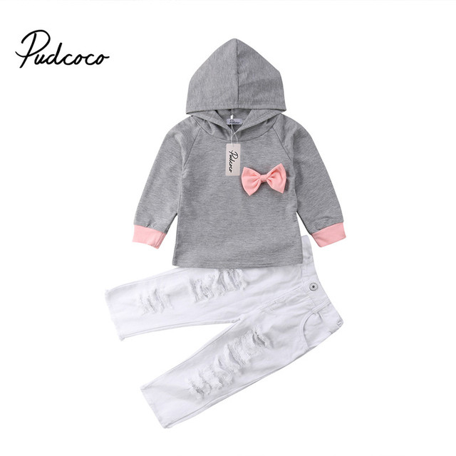 7264582bd67 Children Clothing 2019 Autumn Girls Clothes 2pcs Set Christmas Outfit Kids  Clothes Hooded Casual Suit For