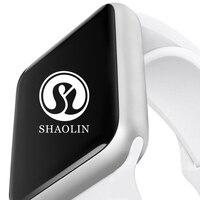 Bluetooth Смарт часы серии 4 сердечного ритма мониторы умные часы предмет одежды устройства для iPhone IOS и Android смартфонов apple Watch
