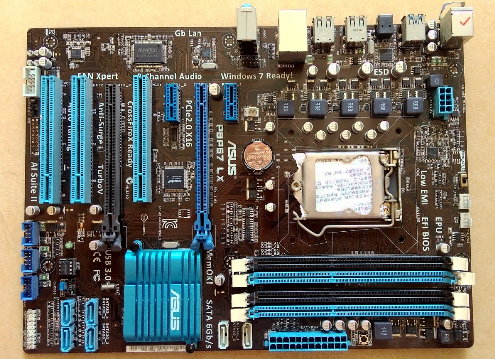 ASUS P8P67 LX Motherboard Chipset Intel P67 LGA1155 DDR3 With a I//O