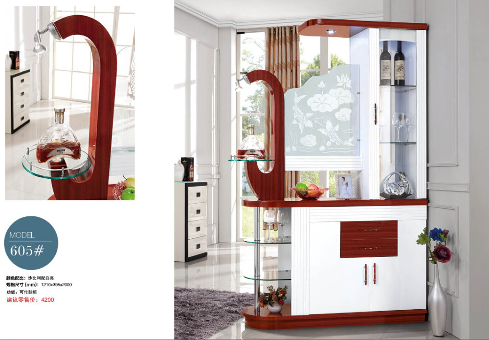 605# Modern living room cabinet shoes box cabinet showcase living room Between Cabinet Office wine cooler cabinet