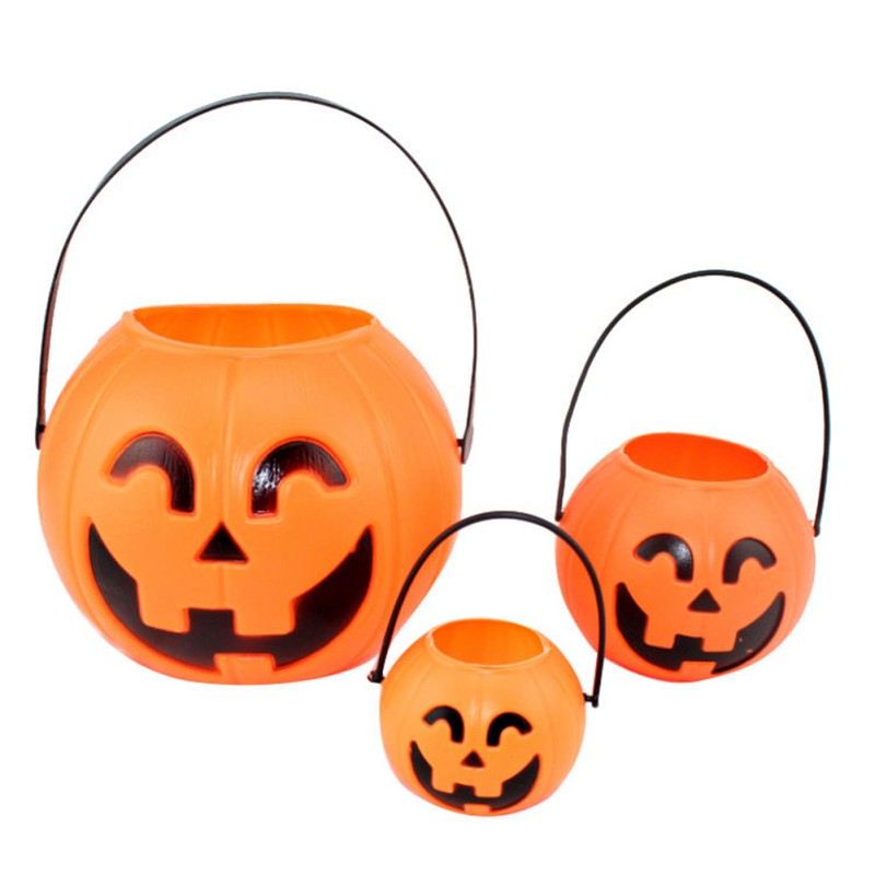 halloween decoration bar vintage pumpkin lantern light bucke pumpkin for party decor supplies hot sale - Halloween Decoration Sales