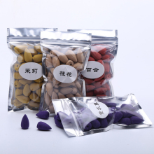 40pcs Smoke Backflow Incense Tower Cone Sandalwood Reflux Cones Bullet Use in Home Office