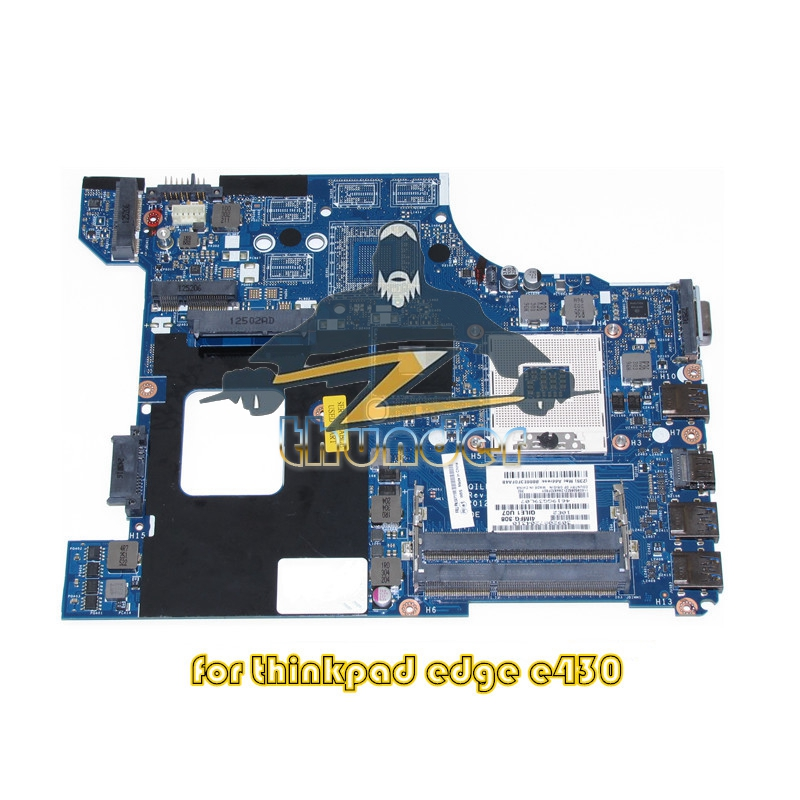 04Y1168 QILE1 LA-8131P for lenovo thinkpad Edge E430 laptop motherboard hm77 HD4000 DDR3 цена 2017