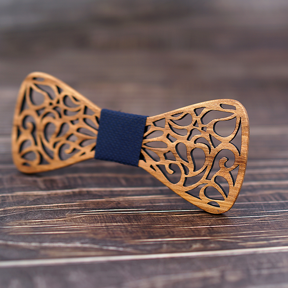M1 (1)  Mahoosive New Floral Wooden Bow Ties for Males Bowtie Hole Butterflies Marriage ceremony go well with picket bowtie Shirt krawatte Bowknots Slim tie HTB1KeGpjcIrBKNjSZK9q6ygoVXaS
