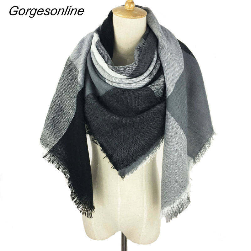 New Arrival 142 colors Fashion Black Grey Colors Wrap Shawl Branded Spring Winter Soft Texitile Square Blanket Scarf for Women