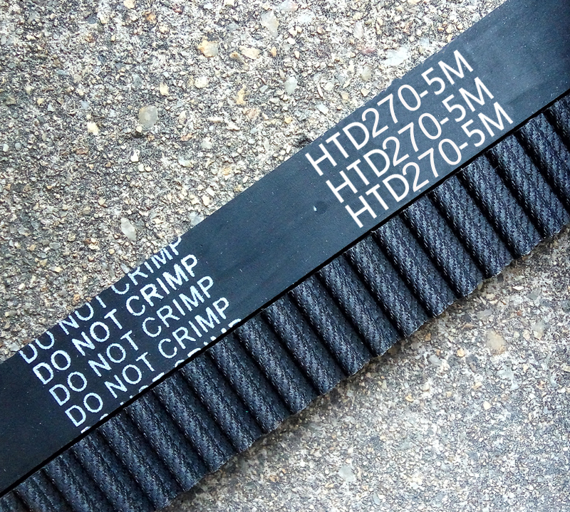 2 pieces HTD5M belt 270-5M-15 Teeth 54 Length 270mm Width 15mm 5M timing belt rubber closed-loop belt 270 HTD 5M S5M Belt Pulley2 pieces HTD5M belt 270-5M-15 Teeth 54 Length 270mm Width 15mm 5M timing belt rubber closed-loop belt 270 HTD 5M S5M Belt Pulley