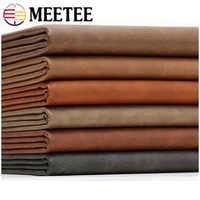 Meetee 50X68CM Faux tissu en cuir synthétique artificiel pour coudre bricolage sac chaussures canapé matériel décoration de la maison accessoires AP479