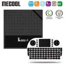 Mecool KM8 P Amlogic S912 Octa Core TV Box Android 6 0 Smart Tv 1G 2G