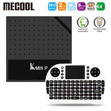 Mecool KM8 P Amlogic S912 Octa Core TV Box Android 6.0 Smart Tv 1G 2G RAM 8G 16G ROM 2.4GHz WiFi HD 2.0 4K KM8P PK X96 X92 A95X