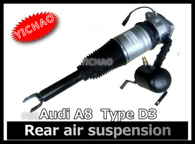 FREE SHIPPING FOR AUDI A8 AIR SUSPENSION REAR LEFT AIR SHOCK STRUT OEM 4E0616001H car air shock absorber