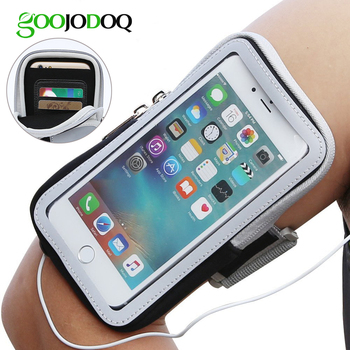 Armband for iPhone X 8 7 6 6s 8 plus for iPhone Xs Xs Max XR Sports Running Phone Case Cover for Samsung galaxy 7 S8 S6 Armband