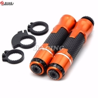 7 8 22mm Universal Motorcycle Handlebar Handle Bar Grips Motorbike Hand Bar Ends For KTM 200
