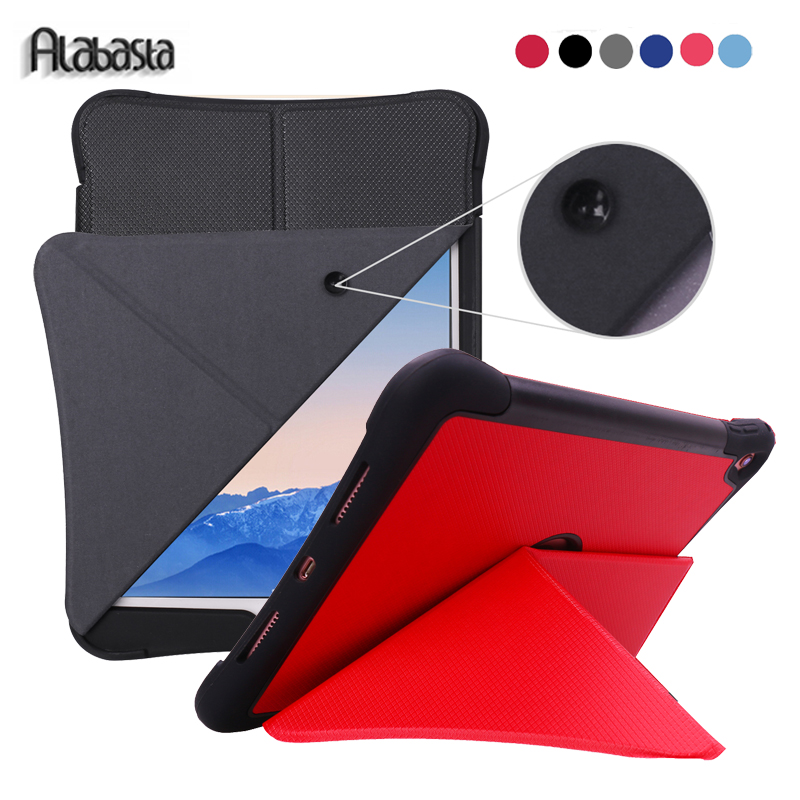 Alabasta for Capa Apple iPad pro 9.7 Leather Silicone Cover Case Magnetic Wake up Sleep Smart Kickstand 9.7 inch Stand Shell pen case for funda ipad pro 12 9 luxury business leather case tablet 12 9 inch wake up hand belt holder stand flip bags alabasta