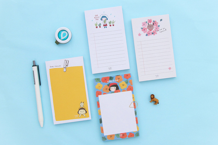 Cartoon tear Plan List Memo Pad Sticky Notes Check List Paper Sticker Post It Notepad Gift Stationery Escolar Papelaria