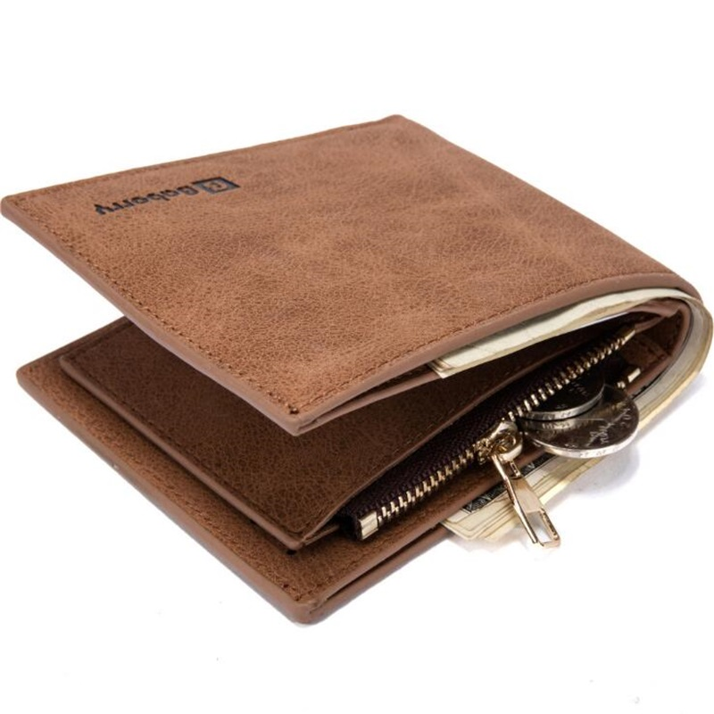 New Pu Quality Men Wallets Carteira Black 3Fold Small Wallet Portable ID Credit Card Holder Coin Change Purse Clutch Wallet Thin men wallets with zipper pu leather wallet male small brown black thin credit card holder coin money purses short wallet carteira