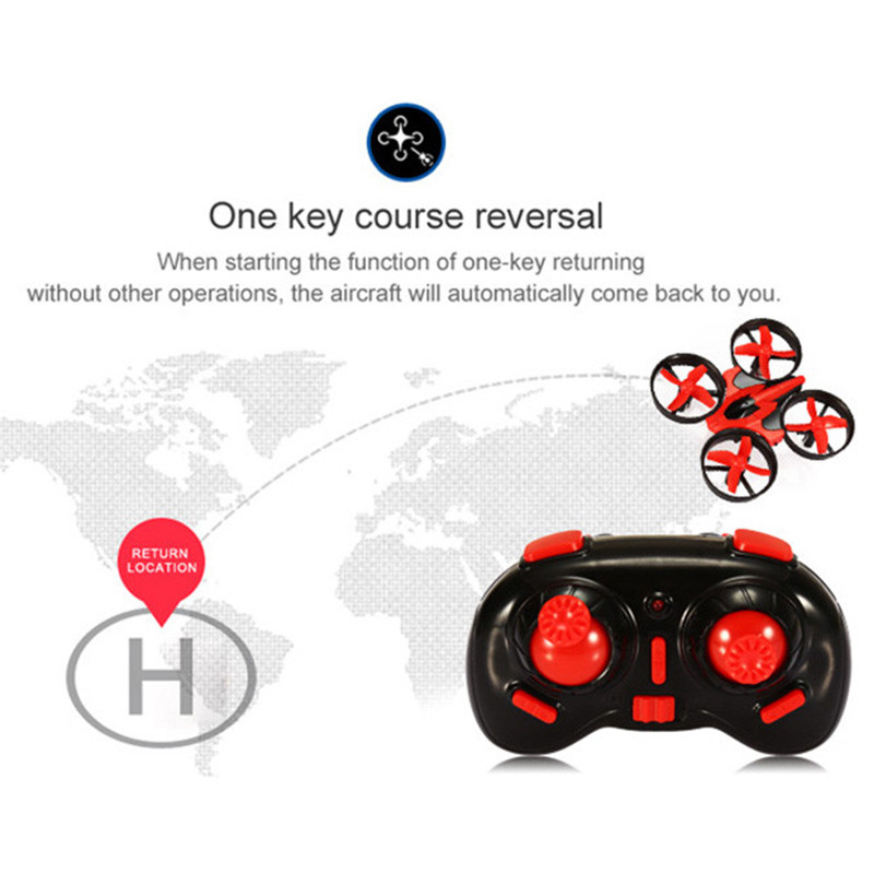 Mini Drone RC Quadcopter NH010 2.4G 6-Axis 4 Channels 30M Headless Mode One Key Return RC Helicopters Dron Toys Pocket Drones (20)