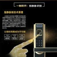 Finger vein recognition lock smart door lock