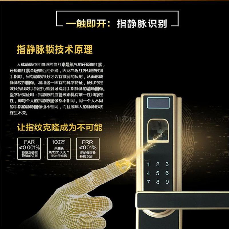 Finger vein recognition lock smart door lock [readstar] speak recognition voice recognition module v3 1