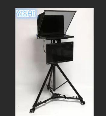 Unterhaltungselektronik Methodisch Yishi Neue 24 Inch Klapp Tragbare Teleprompter Für Micro-klasse Sitzung Moderator Inschrift Mit Dual Display Teleprompter