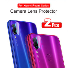 2Pcs Back Camera Lens Protector For Xiaomi Redmi Note 7 6 Pro 5 Plus 7A Tempered Glass Redmi K20 Pro 7A 6A Go S2 Protective Film(China)