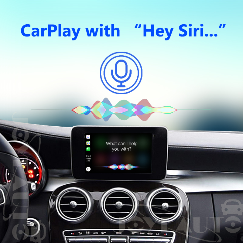 ❤️ Joyeauto Aftermarket Wireless OEM Apple CarPlay Retrofit Mercedes C  Class W205 GLC X253 15-19