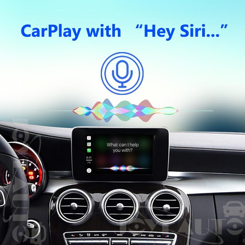 Joyeauto Aftermarket Wireless OEM Apple CarPlay Retrofit Mercedes C Class  W205 GLC X253 15-19 NTG5 Car Play with Reverse Camera