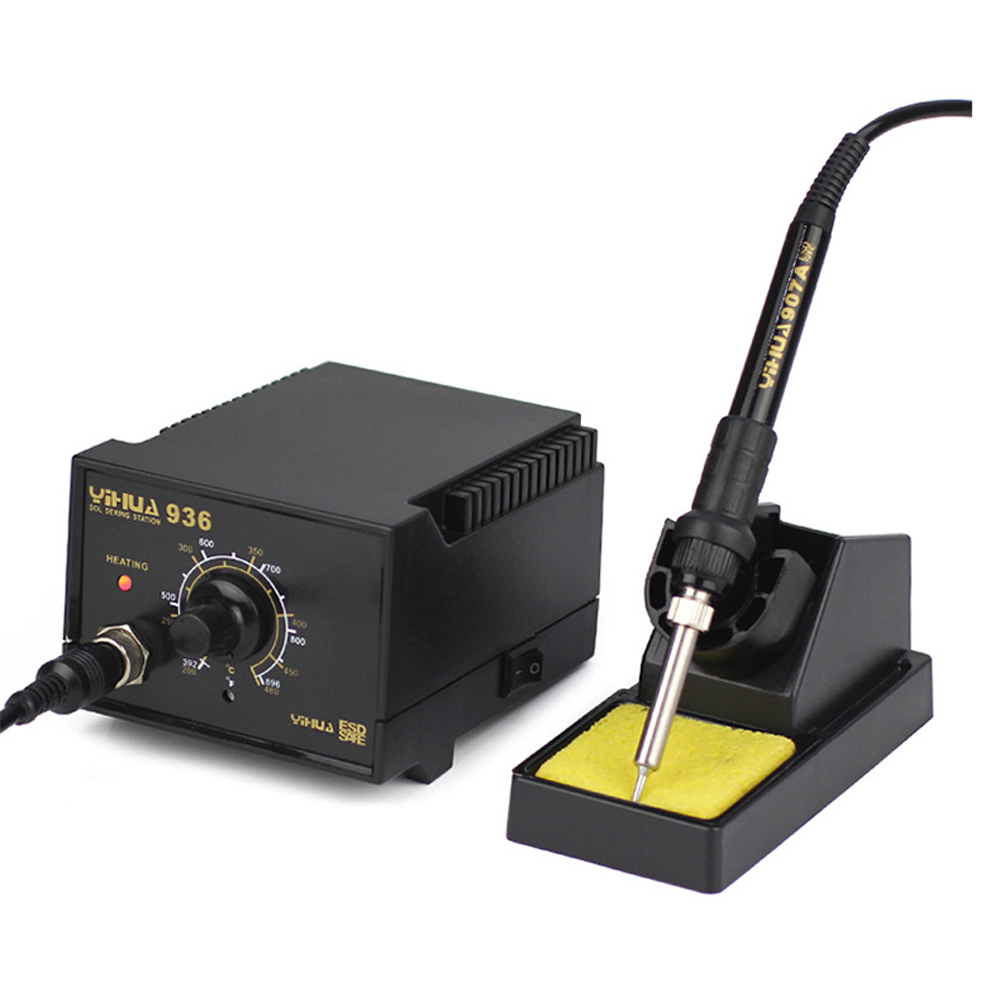 110V 220V Anti static electric welding machine Lead Free Temperature Controlled Soldering Station Rework Soldering Iro