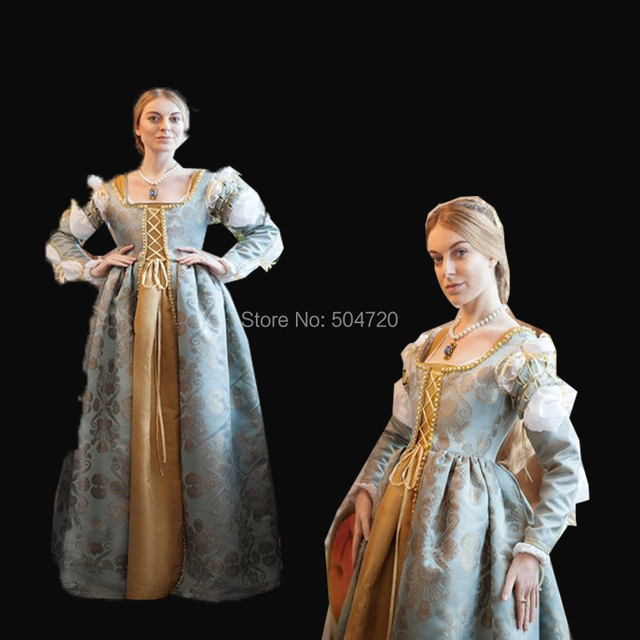 989bd6bf8feac US $185.0 |Tailored!NEW Royal 18 Century French Duchess Retro medieval  Renaissance Reenactment Theatre Civil war Victorian dress HL 318-in Movie &  TV ...