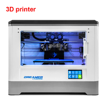100-240V 3D Printer Dreamer WIFI and touchscreen Twin Extruder Totally Enclosed Chamber W/2 Free Spool Print thickness Zero.1-Zero.5mm