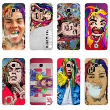 Hip Hop Rapper Tekashi 69 6ix9ine Cover TPU Phone Case untuk Samsung Galaxy S6 S6edge S6Plus A7 S7edge S8 S9 plus A5 J2 J5 J7 2016(China)