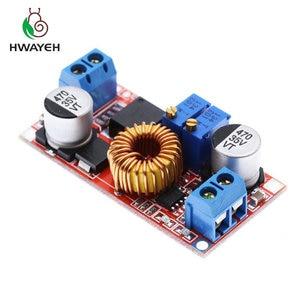 Image 3 - 1Pcs 5A Dc Naar Dc Cc Cv Lithium Batterij Step Down Opladen Board Led Power Converter Lithium Charger Stap down Module Hong