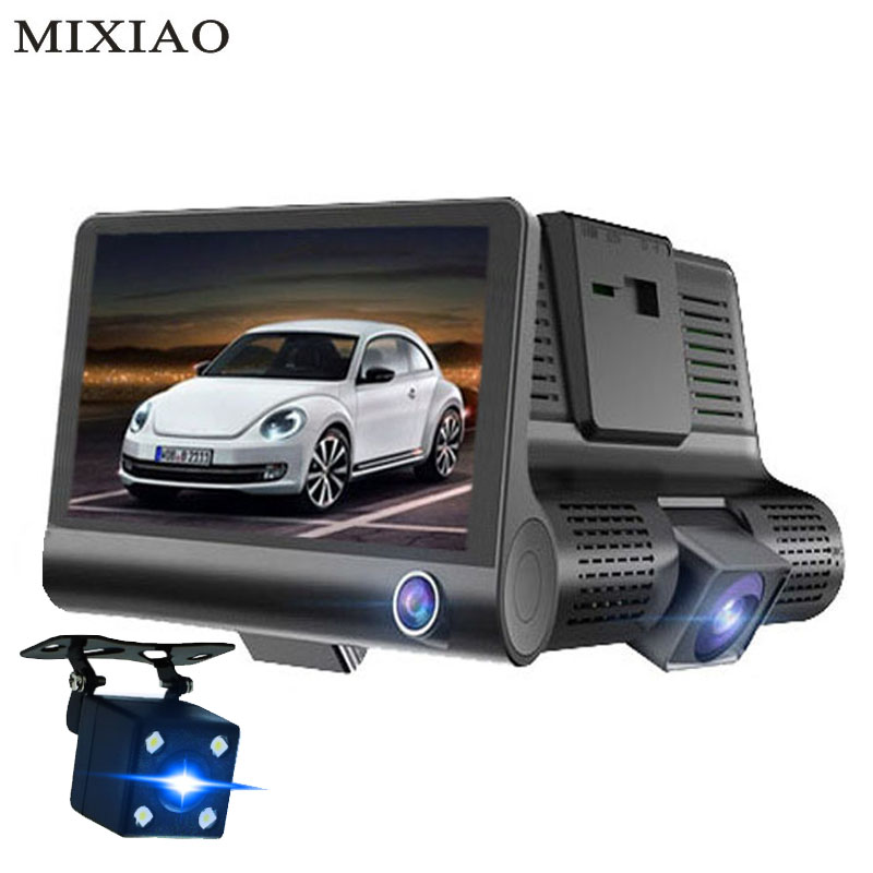 3 Way Car DVR font b Camera b font Video Recorder Rear View Auto Registrator With