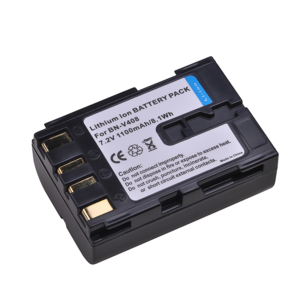 Tectra 1 pcs BN V408 BNV408 BN V408 Battery for JVC GR